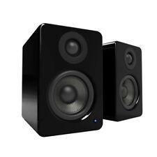 Kanto Audio Yu2 Powered Bookshelf Speakers - Black