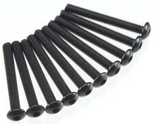 Axial SCX10 Honcho  M3x25mm Hex Socket Button Head (Black) (10pcs) AXA120