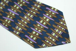 MEMPHIS Silk tie Made in Italy F14889