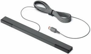 Original Nintendo Wii Sensor Bar Rvl-014 (Bulk Packaging) New (Black Gray)