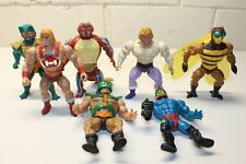 Lot of 7 Vintage Masters of the Universe MOTU Action Figures He-Man
