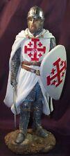 Statuette Chevalier Ordre du Saint Sépulcre -  Statuette moyen age