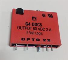 OPTO 22 5V LOGIC RELAY G4 0DC5 LOT OF 4