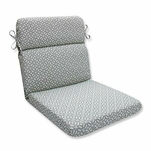 Pillow Perfect 594248 Outdoor/Indoor in The Frame Pebble Round Corner Chair C...