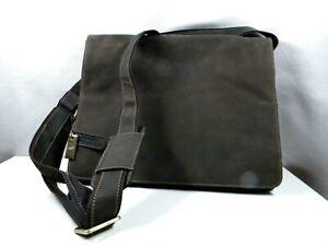 Visconti Leather Messenger / Laptop Bag