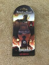 Attack On Titan Photo LED Digital Rubber Watch Rare Hard To Find New With Tags!