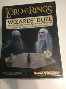 Lord Rings Games Workshop  Strategy Battle Game - Wizard's Duel new