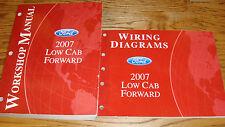 2007 Ford Low Cab Forward Truck Shop Service Manual + EVTM Wiring Diagram Set 07