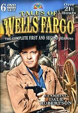 Tales of Wells Fargo: The Complete First and Second Seasons (Dvd 2011) Good Cond