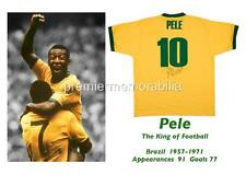 BRAZIL FOOTBALL LEGEND PELE SIGNED (PRINTED) EXCLUSIVE A4 PRINT