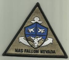 NAVAL AIR STATION FALLON NEVADA U.S.NAVY PATCH WAR AIRCRAFT PILOT SOLDIER USA