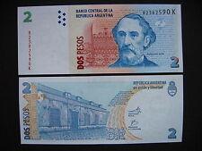 Argentina 2 pesos serie K (p352) UNC