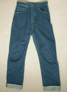 Levis Made & Crafted Japanese Selvage Denim Women's 701 Jeans Rare Size 26 x 32