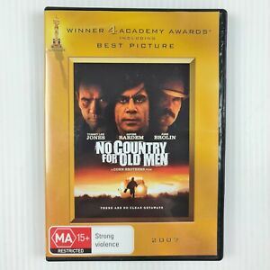 No Country For Old Men DVD -Tommy Lee Jones - Region 4 - TRACKED POSTAGE