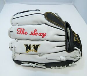 "NV ""The Sexy"" Professional Series Deer Skin Leather Softball Glove RHT 11.75"