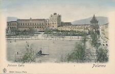 PALERMO – Palazzo Reale – Hand Colored Postcard – Italy - udb (pre 1908)