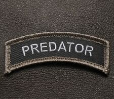 PREDATOR TAB ARMY MILITARY USA INFIDEL BADGE SWAT VELCRO® BRAND FASTENER PATCH