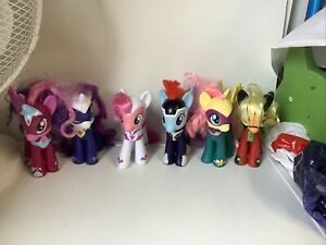 My Little Pony Mega Collection Pack SUPERHERO POWER Ponies All 6 Ponys Bundle