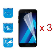 For Samsung Galaxy A3 2017 A320 Screen Protector Cover Guard LCD Film Foil x 3