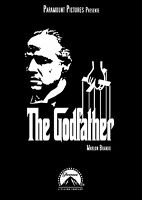 The Godfather Vintage Movie Large BOX CANVAS Art Print Black & White - All Sizes