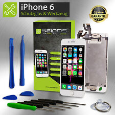 Display für iPhone 6 mit RETINA LCD Glas VORMONTIERT Komplett Front WEISS -White