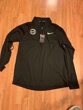 Mens Nike Element Chicago Marathon 2018 Half Zip Size XL (933334 010)