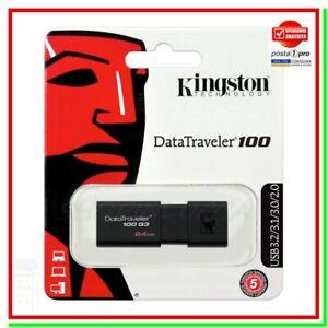 pendrive kingston memory pen drive chiavetta pennetta memoria USB 3.2 100MB/s