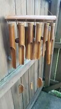 Bamboo Wind Chimes / New Xylophone-Style with 12 Tubes! / Priced To Sell!