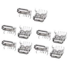 10PCS USB Type A Standard Port Female Solder Soldering Jacks Connector