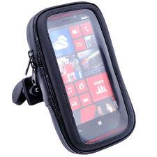 Supporto impermeabile da manubrio per Bicicletta Bici Moto per Nokia Lumia 925