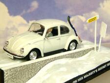 1/43 DIECAST JAMES BOND 007 VW VOLKSWAGEN BEETLE ON HER MAJESTYS SECRET SERVICE