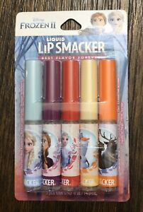 Disney Frozen 2 Liquid Lip Smacker 5ct Lip Gloss Stocking Stuffer