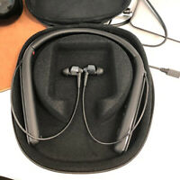 Headset Hard Carrying Storage Case For Sony WI1000X Neckband Wireless Headphone