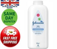 JOHNSON'S Baby Powder 500g Talc Skin Dry Soft Allergy Soft New Born Infants Kit