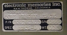 DEC PDP 8 Core Memory Module