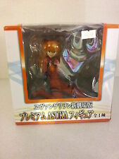 RARE VERSION ACTION FIGURE STATUE  EVANGELION ASUKA LANGLEY PLUG SUIT 2.0