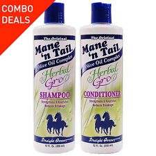 Mane'n Cola Herbal Gro Champú y Acondicionador Pack Doble 355ml
