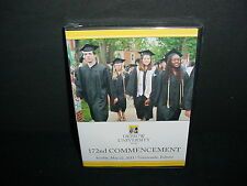 Depauw University 172nd Commencement Greencastle Indiana DVD New