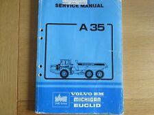 VOLVO A35 DUMP TRUCK Service Manual