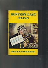 FRANK RICHARDS Billy Bunter's Last Fling - 1st ed 1965 in dustwrapper