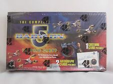 RITTENHOUSE THE COMPLETE BABYLON 5 TRADING CARDS BOX FACTORY SEALED