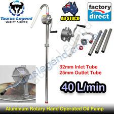 Aluminium Hand Rotary Petrol Diesel Oil Pump Fuel Transfer Patented Auto Tool