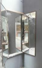Miroir triptyque / Miroir de magasin / Trumeau