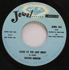 Blues 45 Jewel Records - Good To The Last Drop / Money Is The Name Of The Game O