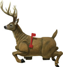 """Rivers Edge 38"""" Long Deer Mailbox - Home Deer Stag with Antlers & Flag Mail Box"""