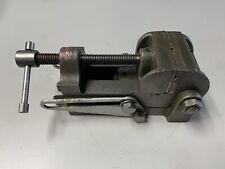 Vintage Craftsman Machinist Drill Press Tilting Vise 2 12 Jaws Milling Machine