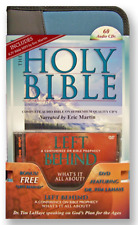 """KJV Martin Complete Audio Bible on CD + MP3 + Free """"Left Behind"""" Conf. DVD"""