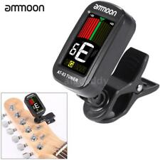ammoon Clip-on Electric Tuner Color LCD Screen 360° Rotatable for Guitar Q7L9