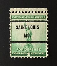 St. Louis, Missouri Precancel - 1 cent Defense (U.S. #899) MO