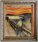 Framed Edvard Munch the Scream Repro, Quality Hand Painted Oil Painting 20x24in